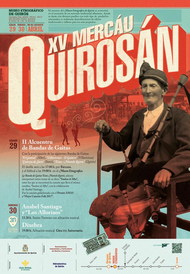 XV Mercáu Quirosán en Quirós