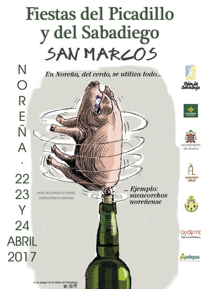 Fiestas del picadillo y del Sabadiego San Marcos en Noreña